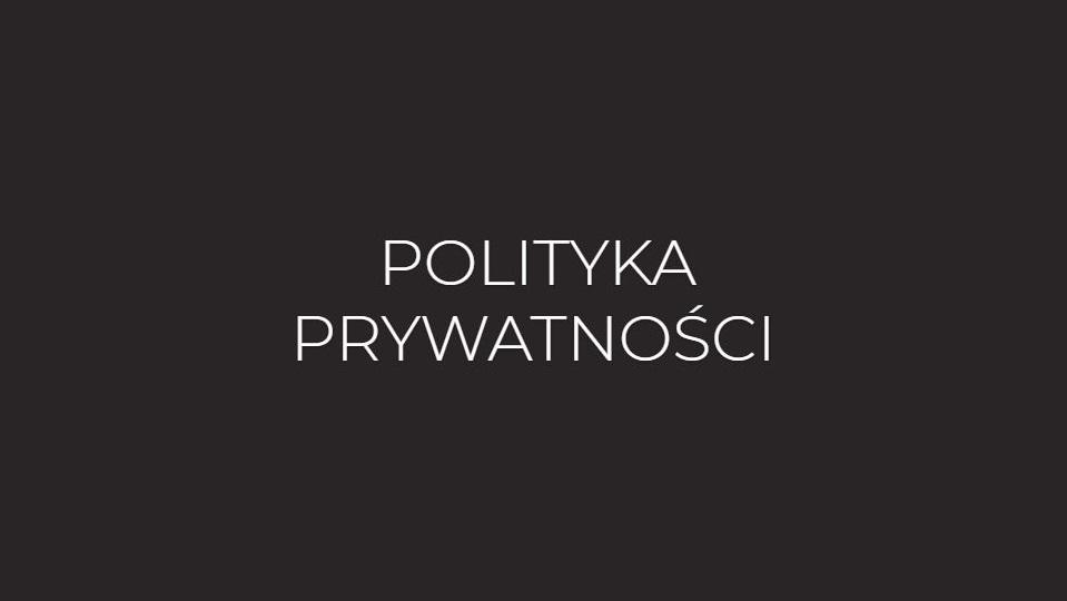 polityka prywatnosci www.michaliwan.com